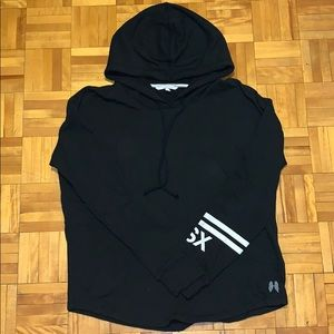 Victoria's Secret black hooded sweater